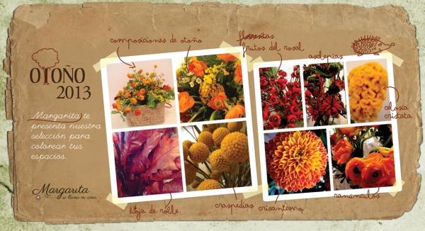 Las flores del otoño